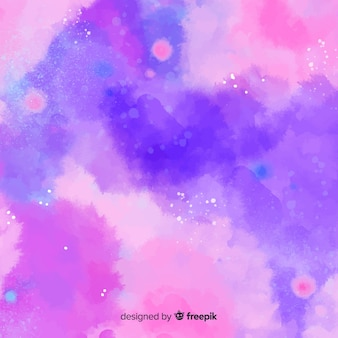 Kolorowe tło akwarela z plamami