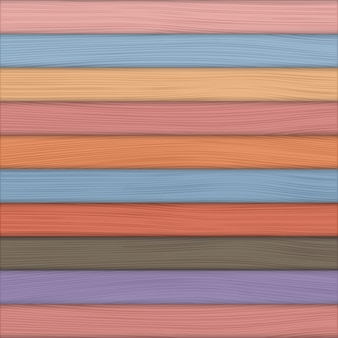 Kolorowe tło drewna, wektor eps10 ilustracji