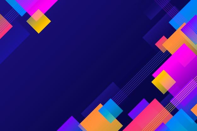 Kolorowe tło geometryczne