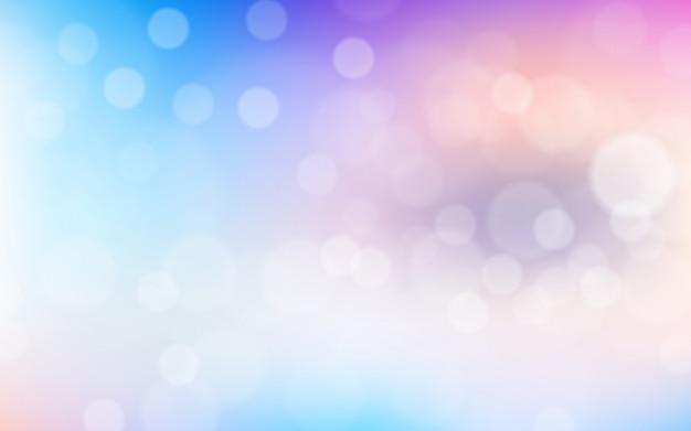 Kolorowe tło gradientowe miękkie z efektem bokeh