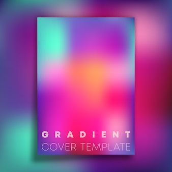 Kolorowe tło gradientowe tekstury dla tapety, ulotki, plakatu, okładki broszury, typografii lub innych produktów drukarskich. ilustracja