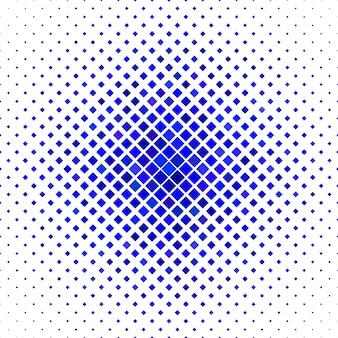Kolorowe tło kwadratowy wzór - geometryczny ilustracji wektorowych z ukośnych kwadratów w niebieskim dzwonka