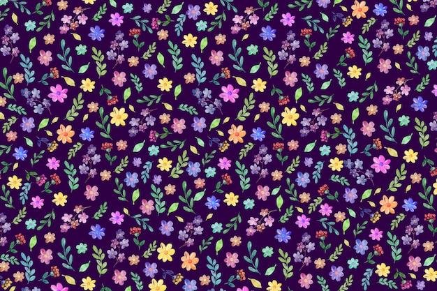 Kolorowe tło kwiatowy