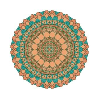 Kolorowe tło mandali