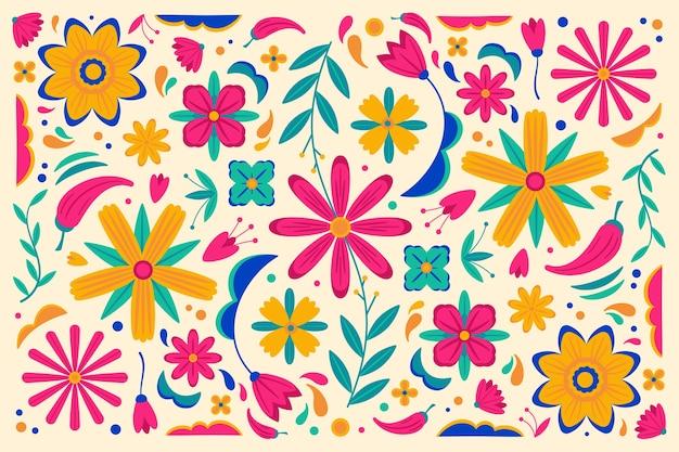 Kolorowe tło meksykańskie