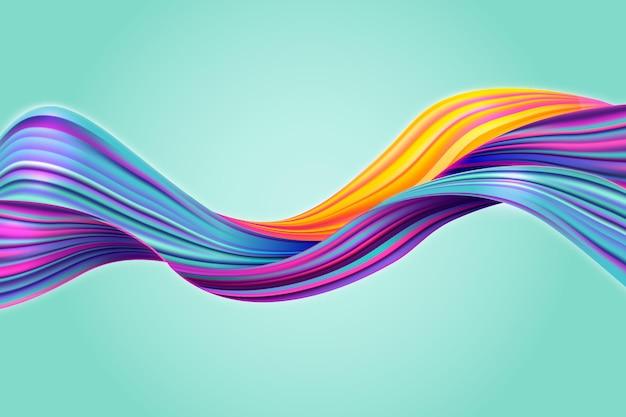 Kolorowe tło przepływu