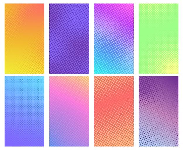 Kolorowe tło rastra. tekstury komiksu, sztuki komiksowej i tła z kropkami półtonów