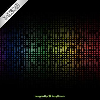 Kolorowe tło w nowoczesnym stylu