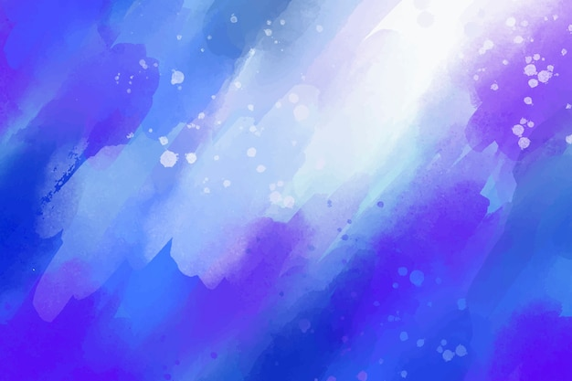 Kolorowe tło w stylu przypominającym akwarele