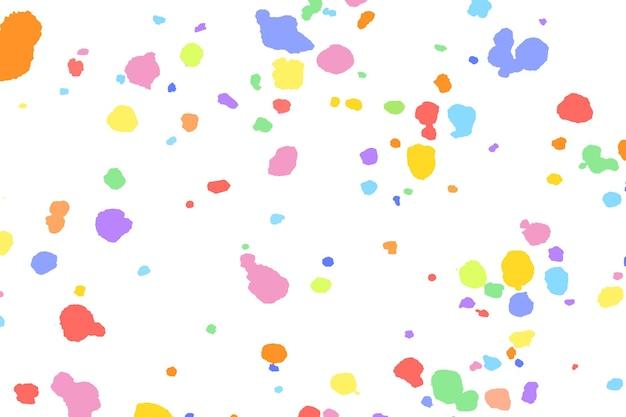 Kolorowe tło wektor z roztopionym woskiem kredką art