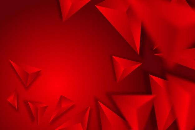 Kolorowe tło z 3d trójkątów