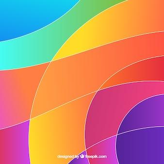 Kolorowe tło z abstrakcyjnym stylu