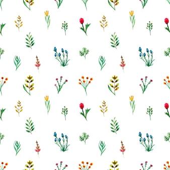 Kolorowe tło z nadrukiem kwiatowym