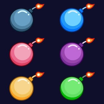 Kolorowe tradycyjne bomby bronią 2 atutem gry