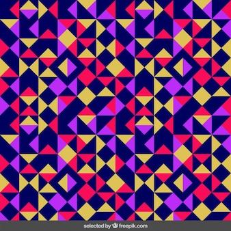 Kolorowe trójkątne wzór