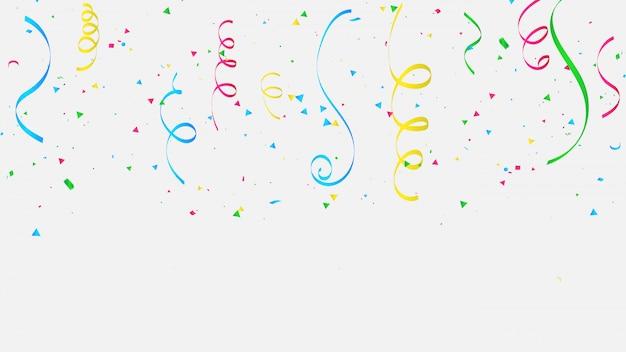 Kolorowe uroczystości konfetti.