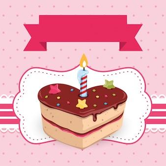 Kolorowe urodziny zaproszenie