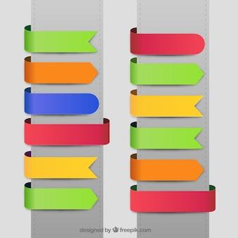 Kolorowe wstążki