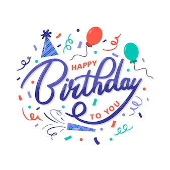 Kolorowe wszystkiego najlepszego z okazji urodzin