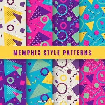 Kolorowe wzory geometryczne