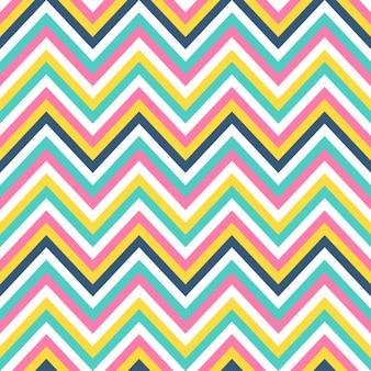 Kolorowe zygzakowaty wzór