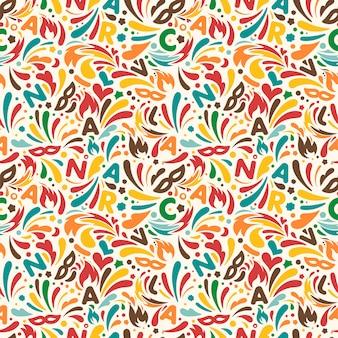 Kolorowy abstrakcjonistyczny bezszwowy wzór