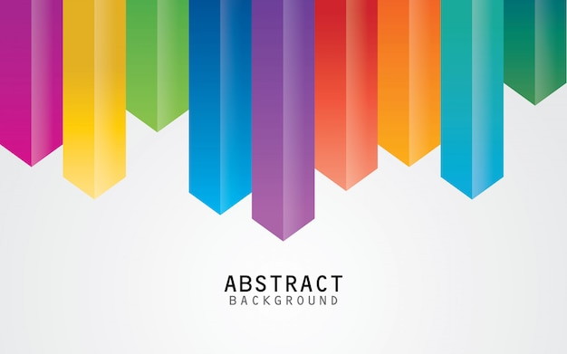 Kolorowy abstrakcjonistyczny geometryczny tło wektor