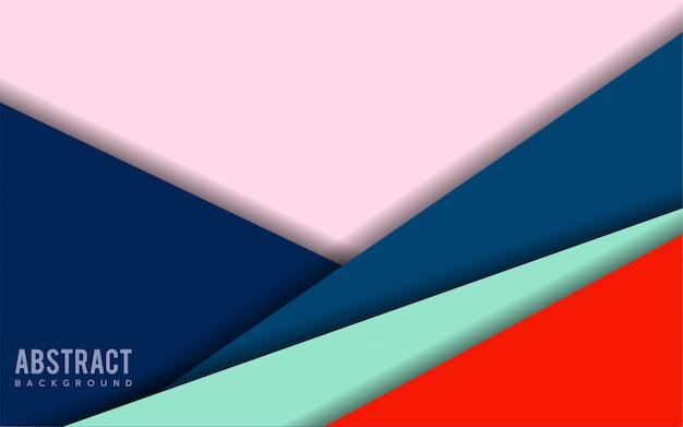 Kolorowy abstrakcjonistyczny nowożytny tło