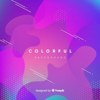 Kolorowy abstrakcjonistyczny tło z nowożytnym stylem