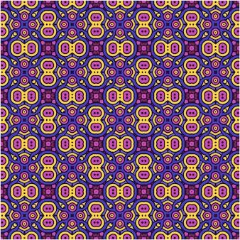 Kolorowy abstrakcyjny wzór w stylu etnicznym