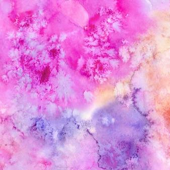 Kolorowy akwareli tekstury tło