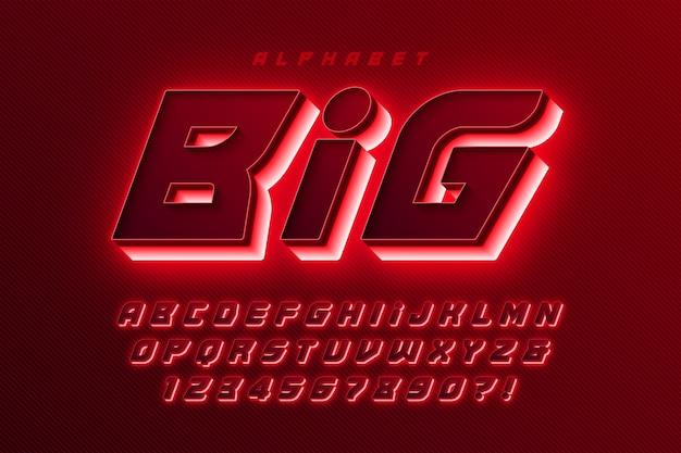 Kolorowy alfabet z logo