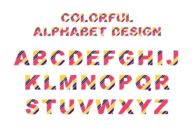 Kolorowy alfabet