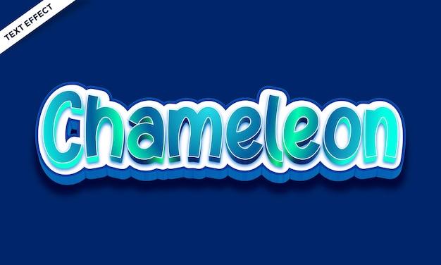 Kolorowy efekt tekstowy skóry kameleona