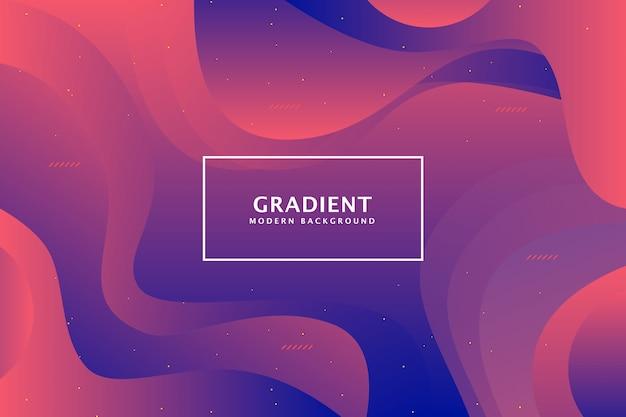 Kolorowy gradientowy geometryczny koszowy tło