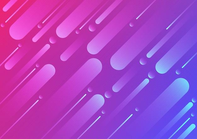 Kolorowy kolor geometryczny i kreskowy abstrakcjonistyczny tło projekt. ilustracji wektorowych