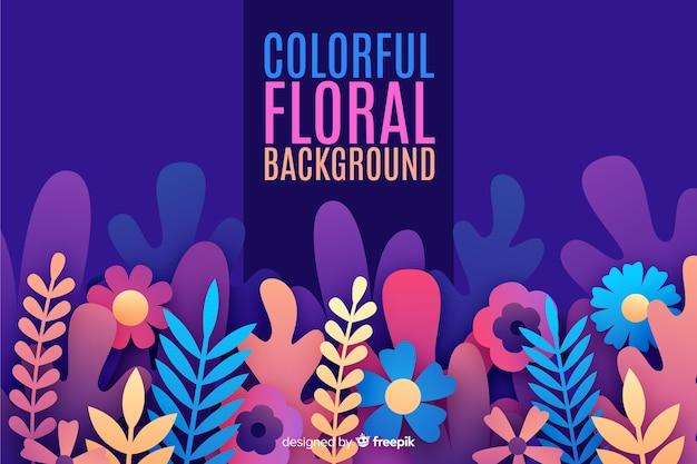 Kolorowy kwiat wiosny tło