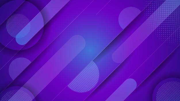 Kolorowy nowożytny gradientowy abstrakcjonistyczny tło