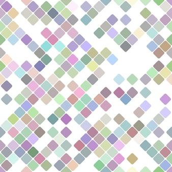 Kolorowy powtarzalny przekątna kwadrata wzoru tło