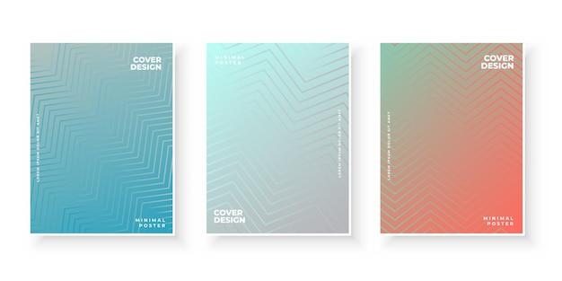 Kolorowy szablon z gradientem do prezentacji