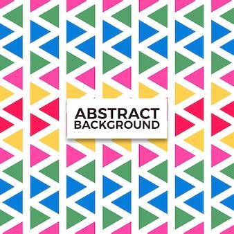 Kolorowy trójkąt backgrund