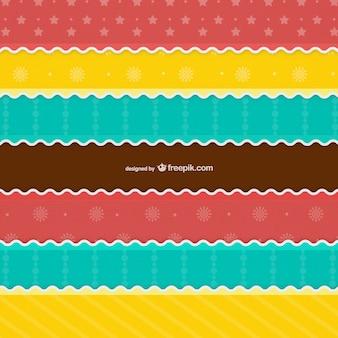 Kolorowy wzór bożego narodzenia