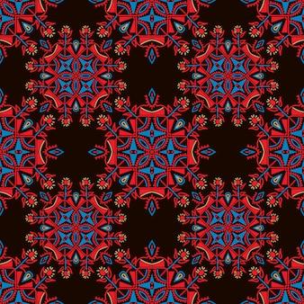 Kolorowy wzór etniczne tło.