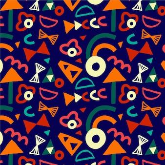 Kolorowy wzór festiwalu holi
