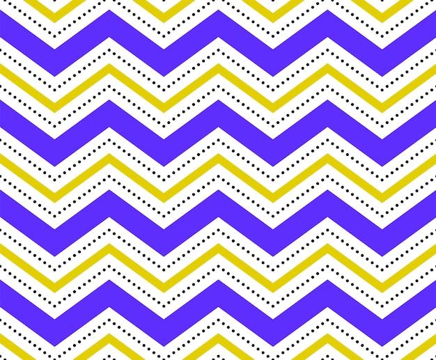 Kolorowy wzór geometryczny bez szwu biały