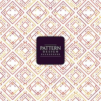 Kolorowy wzór geometryczny elegancki tło