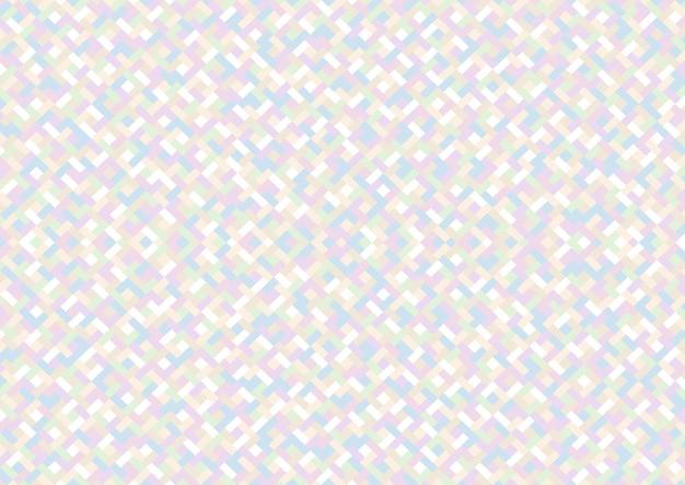 Kolorowy wzór geometryczny w pastelowych odcieniach