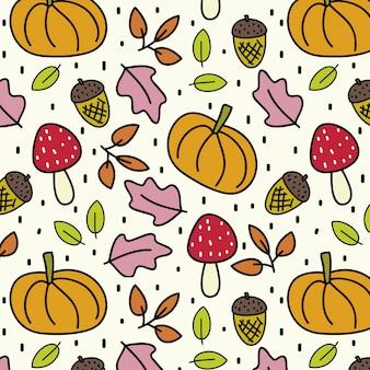 Kolorowy wzór jesieni