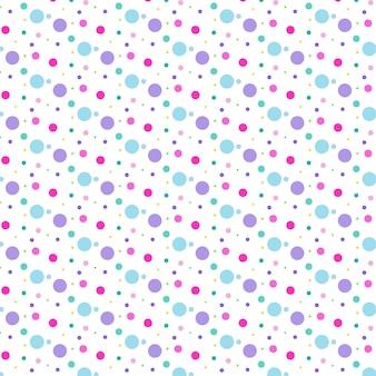 Kolorowy wzór kropki