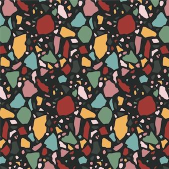 Kolorowy wzór lastryko